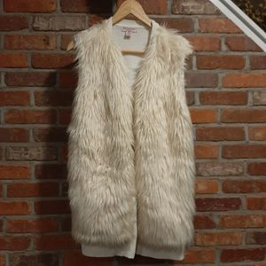 2 for $20 - Revamped by Sirens Faux Fur Vest